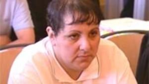Myriam Badaoui en 2004. Ses mensonges avaient conduit à l'arrestation et l'emprisonnement de 17 personnes, pour la plupart innocentés lors des procès suivants.